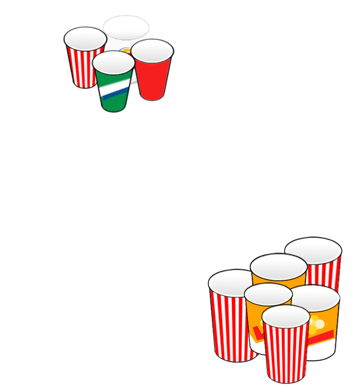 Daizyp cups size
