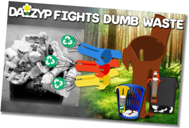 Daizyp fights waste dumb